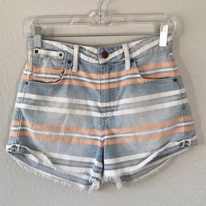 JOES The Charlie Shorts High Rise Rolled Shorts